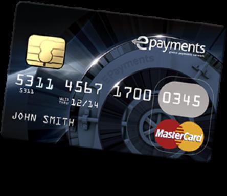 epayments.com - пластиковая карта ePayments Card.
